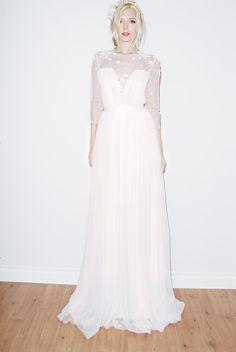 Sunjin Lee 2016 Collection:  Sheer Romance Dress