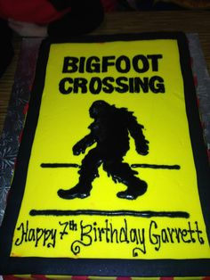 Big foot cake