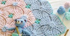 Çok şık bir bebek battaniyesi yapımından bahsedeceğim. Nette gezinirken karşıma çıktı. Tabi daha önce görmüştüm ama yapılışı yoktu. Şimdi yapılışını da bul