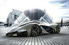 100 Futuristic Vehicle Designs