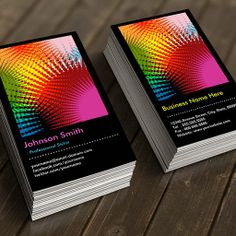 The Most Popular Colorful Business Cards | Bizcardstudio.co.uk