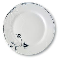 Royal Copenhagen - Elements Plate Small - Thunder - Lekker Home Royal Copenhagen, China Patterns, Hygge, Decorative Plates, Blue And White, Thunder, Tableware, Electra Heart, Danish