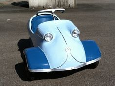Messerschmitt-Pedal Car.