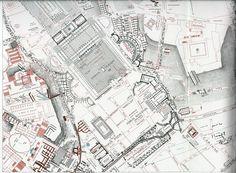 http://www.romaeterna.org/urbs/forma/lanciani.html Que maravilla de planos. #Roma por Rodolfo Lanciani