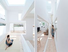 What lies between a house and a street? This was the question Japanese architect Sou Fujimoto addressed in the design of House N in Oita, southern Japan. The clients' mandate for the house was for something pure and simple. Fujimoto's solution? A white three-shelled box structure that blurs the boundaries between outdoors and indoors and connects to both the sky and the street. For more on the architect's work, visit Sou Fujimoto Architects.