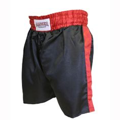 Black w/Red Trim Boxing Shorts  $25.00