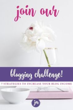 Join our blogging challenge and learn 7 strategies on how to increase your blog's income. You can do this! Make Money Blogging, How To Make Money, Up For The Challenge, Friends Mom, Creating A Blog, Free Blog, Blogging For Beginners, Are You Happy, Something To Do