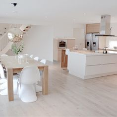 46 most popular scandinavian kitchen ideas 33 Elegant Kitchens, Luxury Kitchens, Home Kitchens, Kitchen Dinning, New Kitchen, Kitchen Decor, Kitchen Island, Kitchen Ideas, Nordic Kitchen