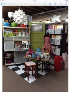 Kitchen was built inside our shop today to display our great range of goods. One of our best displays yet Us Shop, Display, Building, Kitchen, Range, Shopping, Home Decor, Floor Space, Cooking