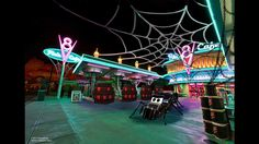 Cars Land and Buena Vista Street to Get Spooky as Halloween Time at the Disneyland Resort Expands to Disney California Adventure Park - 365 Viral Buzz Disneyland Halloween, Disneyland Trip, Disneyland Resort, Disney Vacations, Scary Halloween, Halloween Office, Cheap Halloween, Vintage Halloween, Disney California Adventure Park