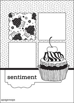 Different layouts for cards and scrapbook pages Scrapbook Layout Sketches, Card Sketches, Scrapbook Cards, Scrapbooking Ideas, Map Sketch, Card Making Templates, Birthday Scrapbook, Cricut Cards, Cute Cards
