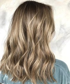 darker blonde balayage