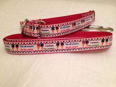 Ice Cream Dog Collar, I Scream You Scream Martingale Dog Collar, I Scream Leash by TiltheChowsComeHome on Etsy