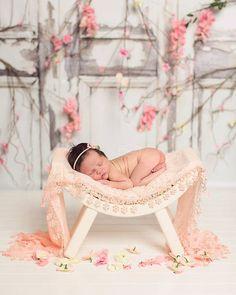 ENVOLVER la foto PROP 18 x 72 gris aqua por babyportraitpropshop