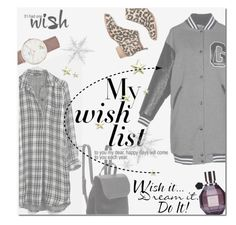 """""""My Wish List"""" by junglover ❤ liked on Polyvore featuring GaÃ«lle Bonheur, Jeffrey Campbell, BCBGeneration, Madewell, Daniel Wellington and Viktor & Rolf"""