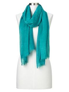 Solid Scarf in Tile (GAP)
