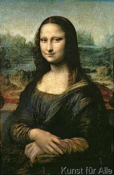 Leonardo da Vinci - Mona Lisa, c.1503-6