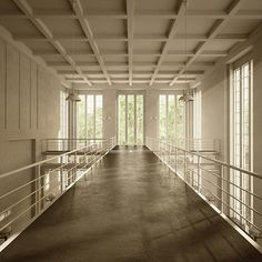 Berlin Pumping Plant Renovation    Done in 3dsMax and Vray. Architecture by Wenk und Wiese Architects.