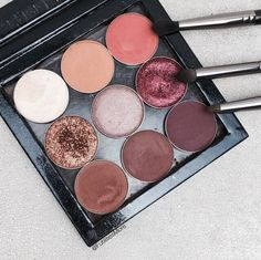 makeup, palette, and eyeshadow image