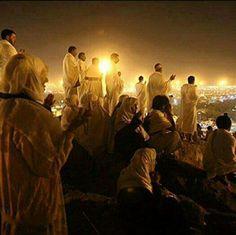 Dua @ Mount Arafat During Hajj