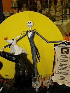 Jack Skellington Tablescape!