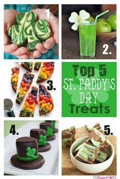 Top 5 St. Patrick's Day Treats | FiveHeartHome.com