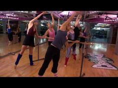Barre Assets Fitness Class at Crunch Gym