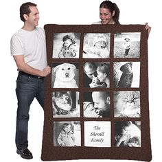 I want a photo quilt with all of Starr's pictures