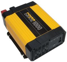 PowerDrive RPPD1000 1000-Watt DC to AC Power Inverter with USB Port and 2 AC Outlet - You have got mega power when you need it with this compact inverter. It is an easy way to harness the power of your vehicle is battery to charge or power cell phones, laptops, iPods and other on-the-road essential electronics. With two AC outlets, it is perfect for professional drivers as well as...