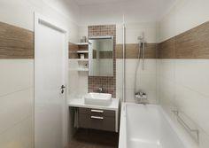 Malý byt v paneláku   AŤÁK DESIGN Toilet, Bathtub, Bathroom, Remodeling, Design, Home Decor, Image, Standing Bath, Washroom