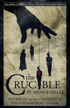 The movie the crucible compared to the real salem witch hunts?