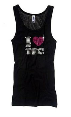 I Heart TFC Blinged Tank - Add some SPARKLE to your workout! 96f8c532771c