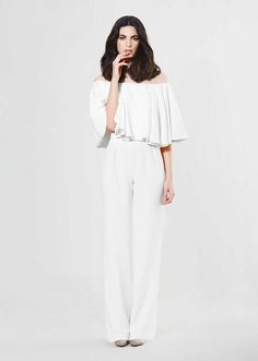 {Las novias de Sophie et Voilà y su colección Dressing all White }