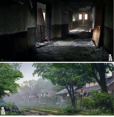 The Last of Us, por Maciej Kuciara   THECAB - The Concept Art Blog