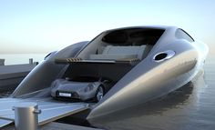 "Yes.........This is a ""Real Yacht""......With a Car! .. YES PLEASE!"