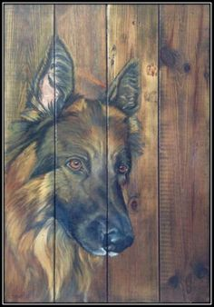 Odinlijstkopie [1600x1200] Wood Pallet Art, Pallet Painting, Tole Painting, Painting On Wood, Painted Driftwood, Barn Wood Crafts, Country Paintings, Wildlife Art, Pictures To Paint