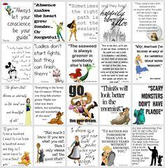 Disney quotes & words of wisdom