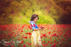 Disney inspired children's photography - Snow White