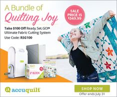Accuquilt - James Hobbies & Crafts Quilt Patterns, Sewing Patterns, Bag Patterns, Sewing Crafts, Sewing Projects, Fabric Beads, Free Motion Quilting, Beading Tutorials, Hobbies And Crafts