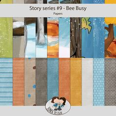 Oscraps.com :: Shop by Category :: All New :: SoMa Design: Bee Busy - Kit - Story Series #9 Bee, Scrapbook, Business, Paper, Shop, Design, Bees, Scrapbooks, Design Comics