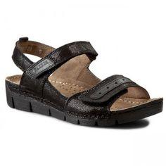 Sandały LESTA - 141-1186-1-10771093 Czarny