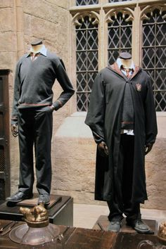 Are you a fan of Harry Potter? You can easily dress up this Halloween as a Hogwarts student by using things you have around the house! Harry Potter Uniform, Harry Potter Outfits, Harry Potter Hogwarts, Hogwarts Robes, Hogwarts Uniform, Making Of Harry Potter, Harry Potter Friends, Harry Potter Portraits, Student Costume