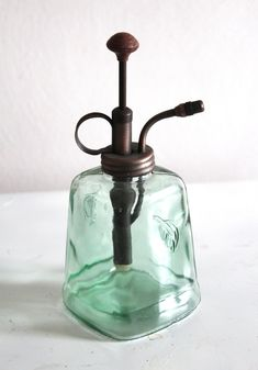 Steampunk inspired soap dispenser