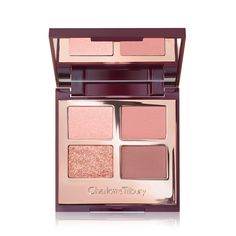 Shop Luxury Eyeshadow Palette in Pillow Talk to create gorgeous nude pink eyeshadow looks. Discover our eyeshadow quad and more luxurious eye makeup online. Pink Eyeshadow Palette, Pink Eyeshadow Look, Nude Eyeshadow, Eyeliner, Eyeshadow Tips, Palette Morphe, Charlotte Tilbury Eyeshadow Palette, Maybelline Eyeshadow, Eyeshadow Brands