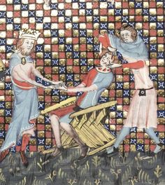 Faldistorium in Romance of alexander, Bodleian Library MS. Bodl. 264, 161v. 1344. http://image.ox.ac.uk/images/bodleian/ms.bodl.264/161v.jpg