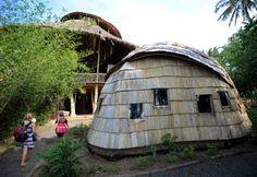 竹の大型建築がバリ島に続々、「環境に優しい建築素材」として注目 写真13枚 国際ニュース : AFPBB News