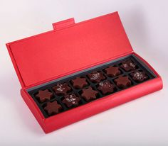 Francois Payard offers a unique box of chocolate stars for the festive season. A perfect gift this holiday. 12 pieces, $46.