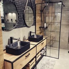 Interior Design Career, Interior Decorating Styles, Diy Decorating, Industrial Bathroom, Bathroom Interior, Home Decor Outlet, Diy Home Decor, Best Bathroom Designs, Bathroom Ideas
