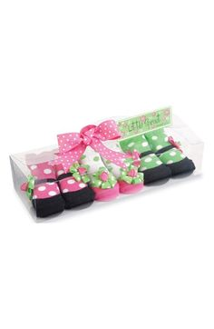 Mud Pie Mary Jane Socks (3-Pack) (Baby) available at #Nordstrom