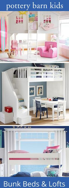 Catalina Stair Loft Bed | Lofts, Barn and Room